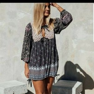 Spell and the gypsy Lion heart Romper